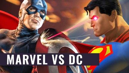 Marvel versus DC - Das Amalgam-Universum zusammengefasst