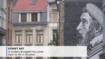 Brueghel brought back to life by Brussels street art