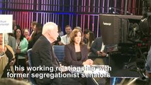 'It was hurtful': Kamala Harris defends jab at Joe Biden
