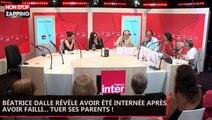Béatrice Dalle révèle avoir été internée après avoir failli... tuer ses parents ! (vidéo)