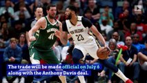 Anthony Davis Helps Lakers Open Max Slot in Free Agency