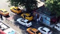 Turistleri dolandırdığı iddia edilen taksicilere operasyon - İSTANBUL