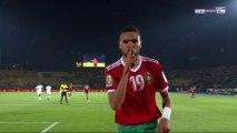 CAN 2019 - Maroc : Le travail dingue d'Amrabat pour En-Nesyri !