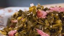Slow-Cooker Collard Greens with Ham Hocks