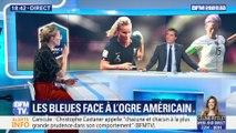 """Laure Lepailleur: """"c'est l'affiche qu'on attendait depuis le début de ce mondial"""""""