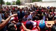 تشييع شرطي قتل الخميس خلال تفجير انتحاري في تونس