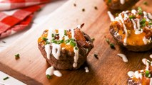 Low-Carb Ranch Burger Bowls Are Loaded With Cheese And Bacon