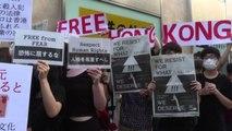 G20 Osaka, manifestanti contro Pechino: stop violazione diritti