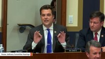 House Ethics Committee Probing Whether Matt Gaetz Tried To Intimidate Cohen