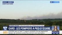 """La préfecture du Gard affirme avoir recensé """"au moins une trentaine"""" de départs de feu"""
