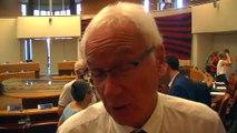 Les explications du maire de Martigues Gaby Charroux.