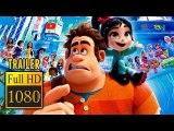 RALPH BREAKS THE INTERNET - Wreck-It Ralph 2 (2018) | Full Movie Trailer | Full HD | 1080p