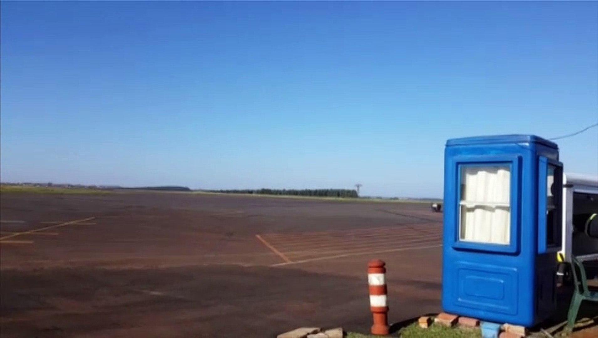 Mesmo com céu 'limpo', aviões da Azul não pousam em Cascavel e seguem para Foz do Iguaçu