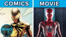 10 Spider-Man Movie Moments Ripped from the Comics
