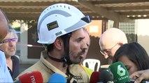 El incendio de Tarragona continúa fuera de control