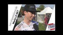 Marie Le Net, ses impressions avant le Championnat de France