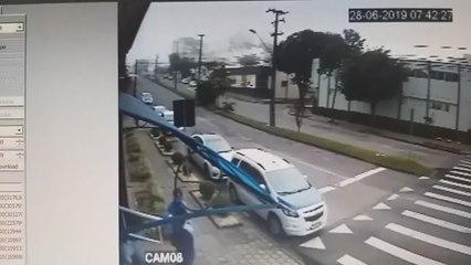 Acidente impressionante em São José dos Pinhais