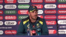 Australia's Aaron Finch pre New Zealand