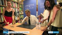 Édition : Nicolas Sarkozy démarre la promotion de son nouveau livre à Paris