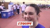 Clair «Je me fais encore sauter sur la ligne» - Jeux Européens - Piste (F)