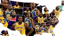 Map Reveals Which NBA Players Are The MOST Hated In EVERY US State!
