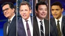 Late-Night Hosts Offer Political Commentary on Second Democratic Debate | THR News