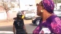 Interdiction Manif : Quand Maimouna Bousso se fait embarquer