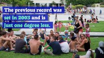 France Hits Its Highest Temperature Ever During Heat Wave
