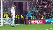 21/10/18 : ASSE-SRFC : penalty manqué Ben Arfa (66')