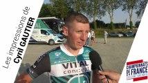 Les impressions de Cyril Gautier avant le Championnat de France