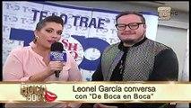 Leonel García conversa con DBEB