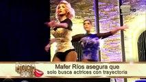 Mafer Ríos asegura que chicas reality han querido hacer casting para Infieles