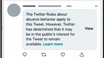New Twitter rules will flag abusive content from government officials with disclaimer