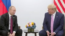"""Trump jokingly asks Putin not to """"meddle in the election"""" at G20"""