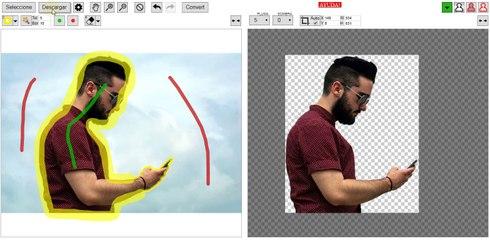 Quitar fondo a una imagen online   Remove background Free