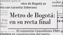 Se abre la licitación del metro de Bogotá por más de 4.000 millones de dólares