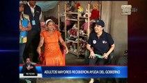 Presidente Moreno visitó a adultos mayores