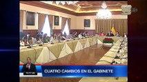 Gobierno realizó cambios en el gabinete