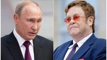 Elton John Blasts Putin For Calling Liberal Values 'Obsolete'