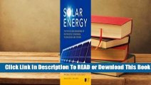 Online Solar Energy: The Physics and Engineering of Photovoltaic Conversion, Technologies and