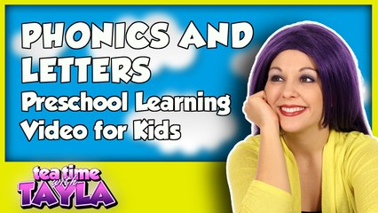 Phonics and Letters - Preschool Learning Video for Kids