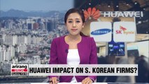 Huawei blacklisting and its impact on S. Korean firms