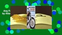 Any Format For Kindle  Harley-Davidson Xr-750 by Allan Girdler