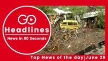 Top News Headlines of the Hour (29 June, 11 AM)