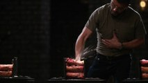 Forged in Fire: Canister Damascus Knife Tests