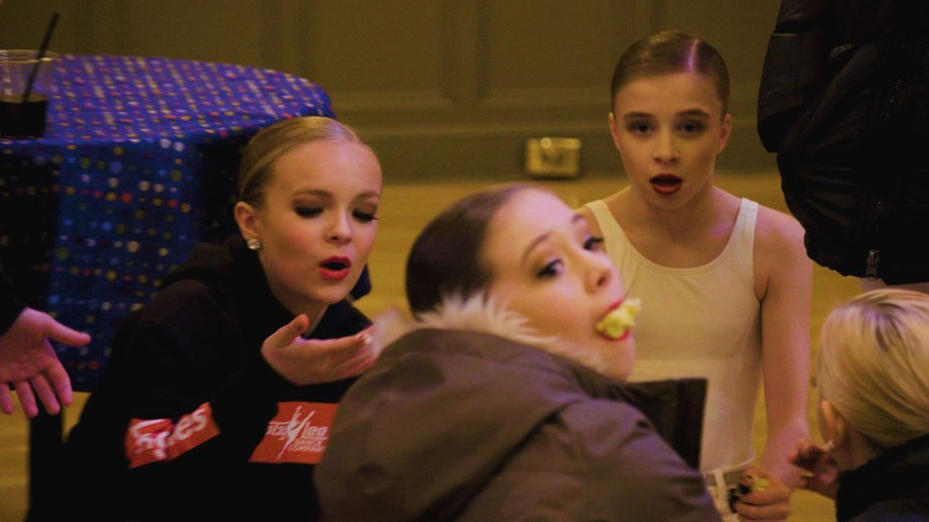 Dance Moms: Tricia Throws the Going-Away Cake on the Ground