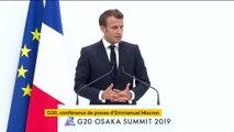 """G20: """"Nous devons aller beaucoup plus loin"""" sur le climat"""", estime Emmanuel Macron"""