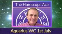Aquarius Weekly Astrology Horoscope 1st July 2019