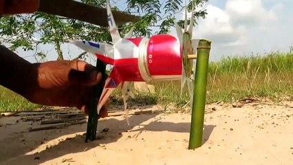 Facile d'Oiseaux de Piège Simple BRICOLAGE Créatif Oiseau Piège de faire de Canettes WURKZ Que le Travail à 100% Par des Hommes