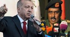 Cumhurbaşkanı Erdoğan'dan Türkiye'yi tehdit eden Libya Ulusal Ordusu sözcüsüne tepki